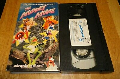 The Muppet Movie (VHS, 1999) Jim Henson Comedy Family ... The Muppet Movie Vhs 1999