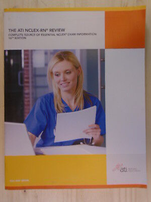 The ATI NCLEX-RN Review: Complete Source of Essential NCLEX Exam  Information 16t 9781565335264   eBay
