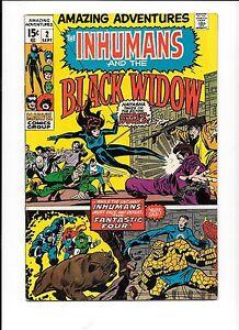Amazing-Adventures-2-Sep-1970-Marvel-Inhumans-Black-Widow-Fantastic-Four