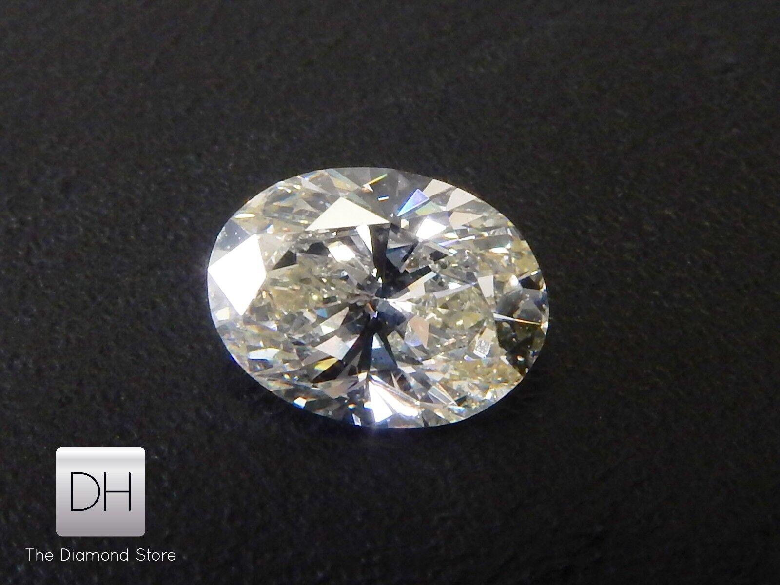 0 52 Ct Natural Loose Diamond Oval Shape K Vs1 For