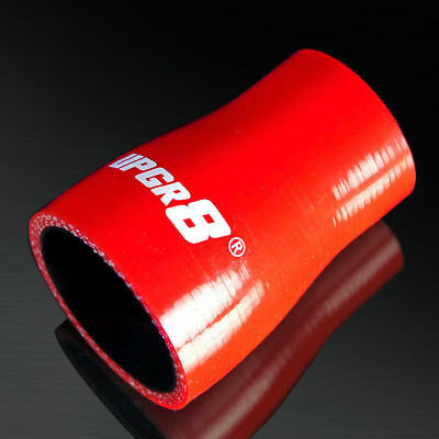 1.25 Upgr8 Universal 4-Ply High Performance Straight Reducer Coupler Silicone Hose 32MM to 1.5 38MM , Red