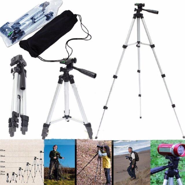 Professional Camera Tripod Stand for Nikon Canon Sony GoPro Camera Camcorder+Bag