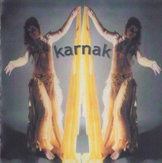 Karnak CD - sound track from the live music to Hilary's Egyptian dance DVD