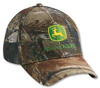 John Deere All Mesh Realtree Hardwoods Camo Cap Jd Hat Lp27813
