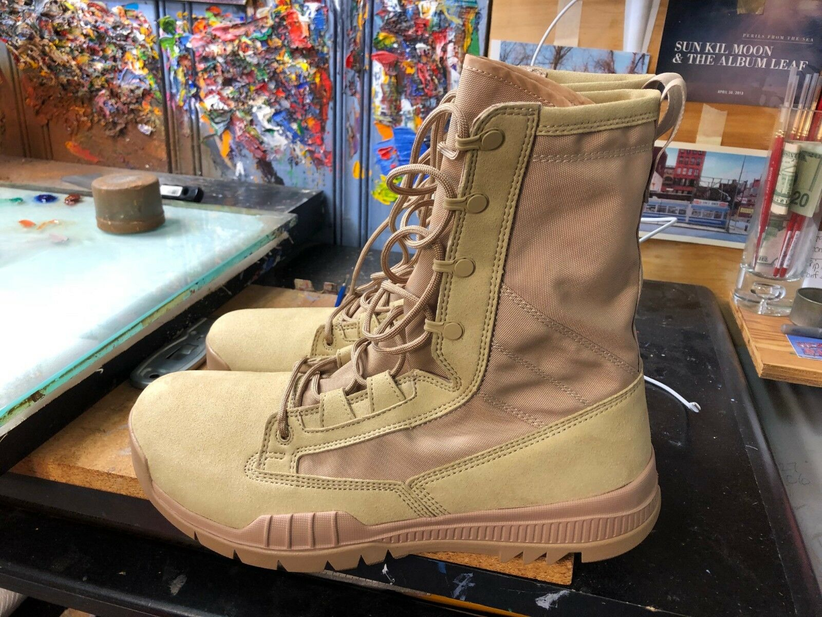 Nike SFB Special Field Boot 8 Inch British Khaki  Size US 13 Men's  631371 220