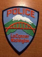 PATCH POLICE LA CONNER - WASHINGTON WA state