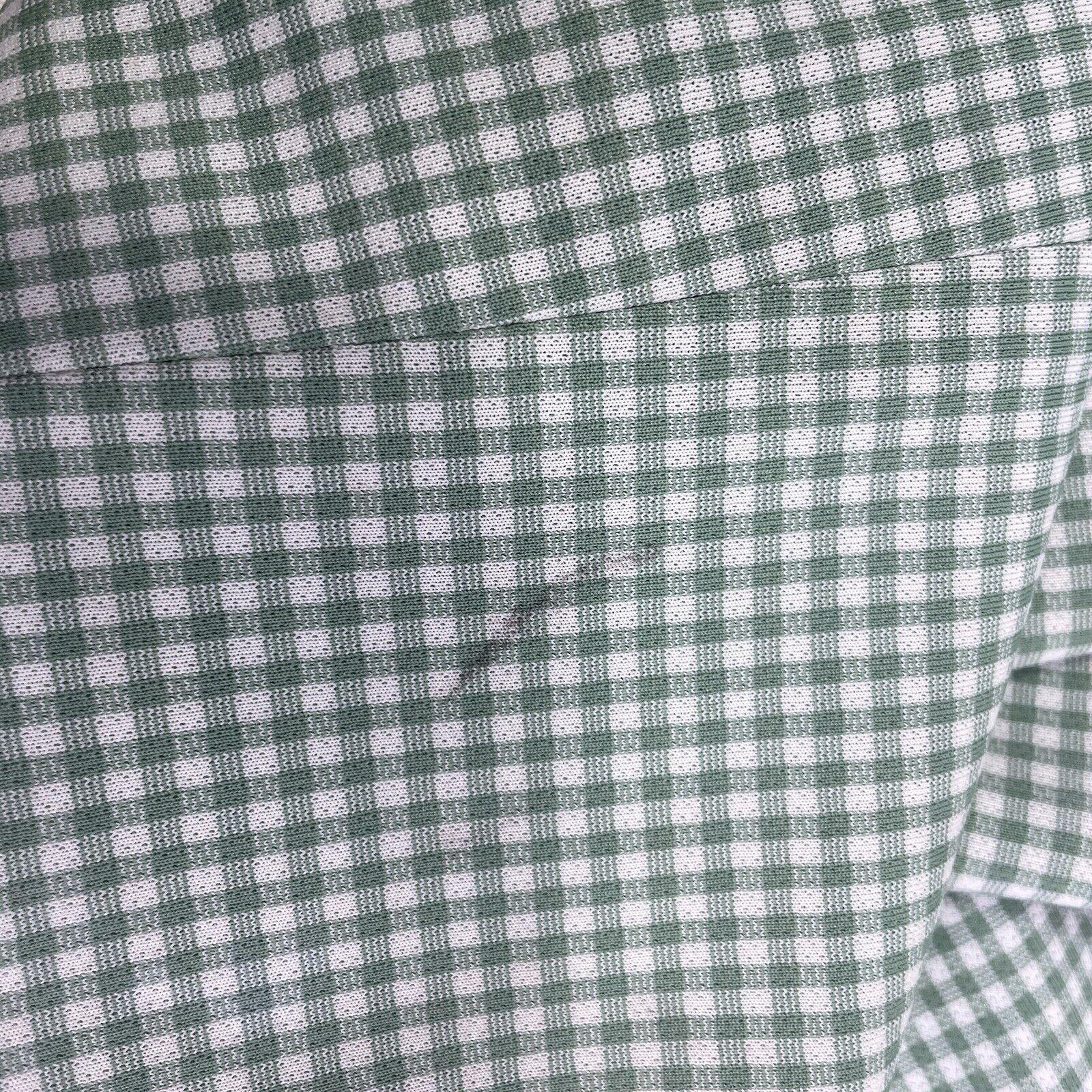 Haggar Green Plaid Check Leisure Golf Pants Vinta… - image 6