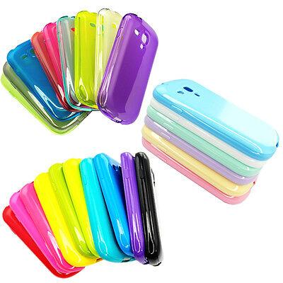 TPU Silicone Phone Case Soft Skin cover for Samsung Galaxy S3 III mini i8190 Lot