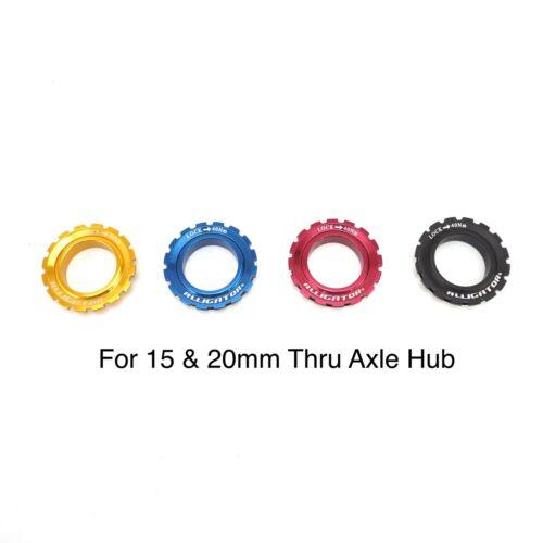 Alligator 6 Bolt to Centerlock Bike rotor adaptor fit Shimano hub 9//15//20 axle