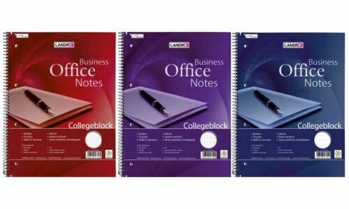 """LANDRÉ Collegeblock /""""Business Office Notes/"""" DIN A4 rautiert"""