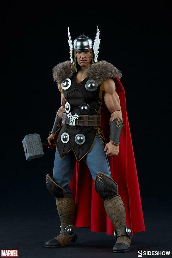 Thor Marvel 1/6 Scale Sideshow Collectibles 12
