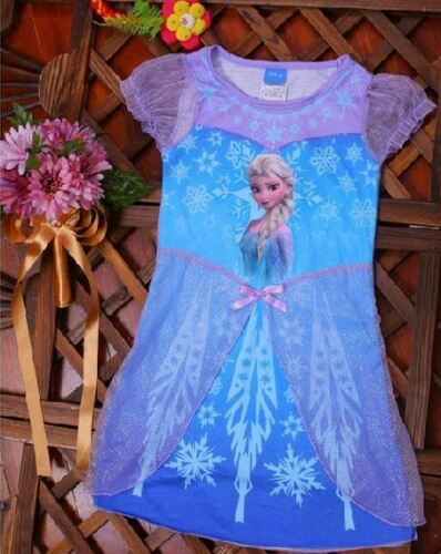 *SALE* DISNEY FROZEN DRESS Elsa Anna FANCY DRESS UP COSTUME or NIGHTIE *REDUCED
