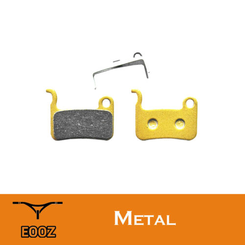 Metallic disc brake pads for Shimano Deore SLX M665 XT M775//776// XTR M975//966