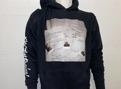 XXXTentacion Rapper Hoodie Sweatshirt Plus Size Mens Black w// Bad Vibes Forever