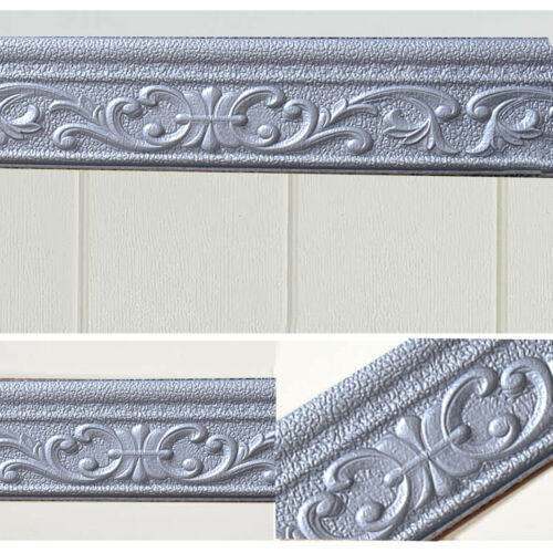 3D Waterproof Wall Sticker Home Wall Skirting Border Self-Adhesive Sticker Decor