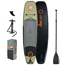 Z-Ray Fishing SUP 11' Inflatable Stand-Up Paddleboard Set, 6 Inches Thick
