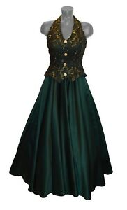 3927ca0b46 Dave and Johnny Vintage 80s Green Sequin Lace Prom Party Formal ...