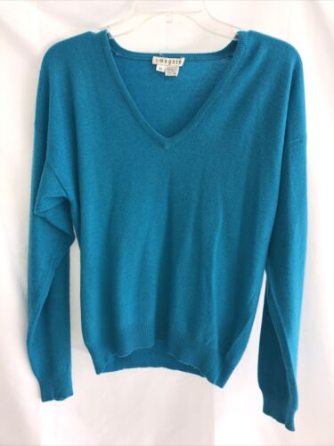 I Magnin  Cashmere Sweater Sz M - image 1