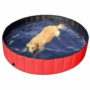 Hard Plastic Foldable Pet Bath Pool