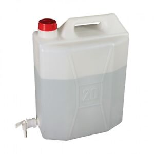 huge discount f8216 bd297 Details about Jerry Can 20 Litre with tap Camping Equipment Water Container