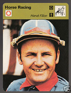 HERVE-FILION-Herve-Jockey-Horse-Racing-1978-SPORTSCASTER-CARD-24-19B