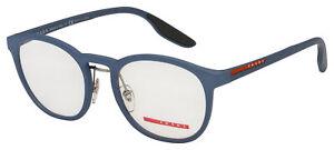 Prada Sport Eyeglasses PS 05HV VHE1O1 51 Blue Frame [51-20-145]
