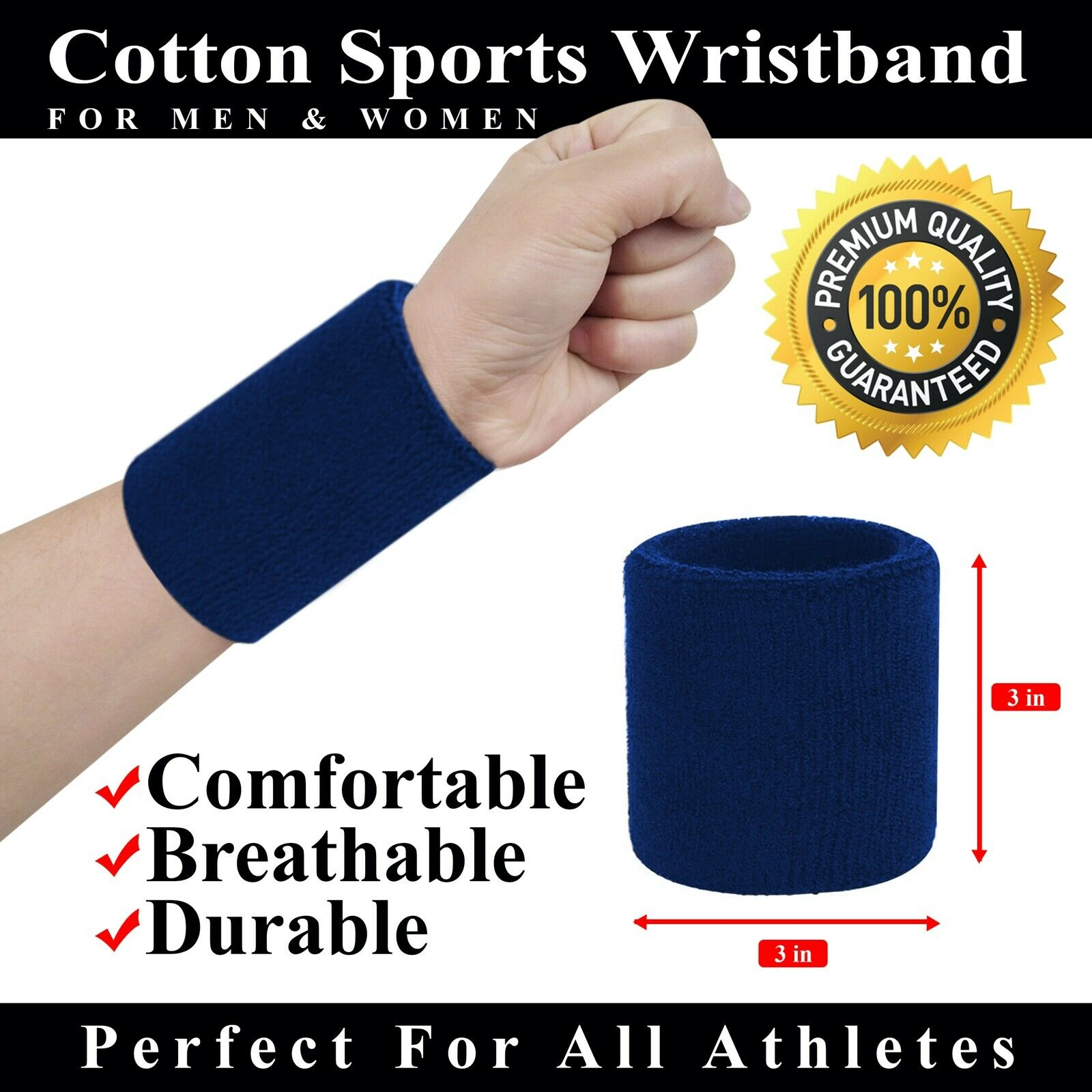 Small Sweat Wrist Bands Tennis Squash Sports MOTOGP for sale | eBay