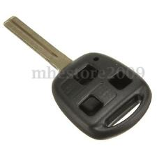 Car Remote Key FOB 3 Buttons Uncut Blade Shell Case For Lexus ES300 GS400 IS RX