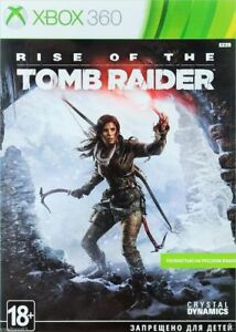 Rise of the Tomb Raider (Xbox 360, 2015) Russian version 885370982251