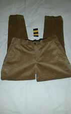 Rugby by Ralph Lauren Men's Tan Slim Fit Corduroy Pants Size : 34-32