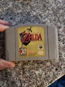 The-Legend-of-Zelda-Ocarina-of-Time-Nintendo-64-N64-Authentic-OEM