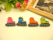 4pcs Cute Roller Skate Rubber Erasers Party Gift Bag Fillers Christmas Stocking