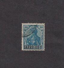 Saar 49 -  German Overprint.  Used.    #02 SAAR49