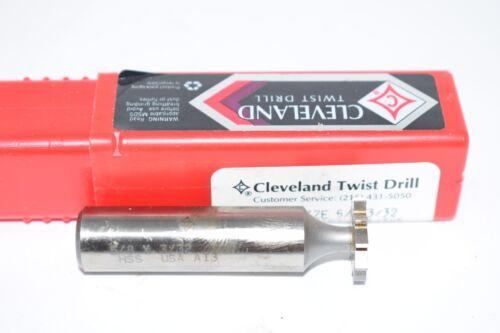 NEW Cleveland Twist Drill 45486 5//8/'/' x 3//32/'/' Woodruff Keyseat Cutter 321//305