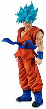New X PLUS Dragon Ball Z Gigantic Series SSGSS God Super Saiyan Son Goku PVC
