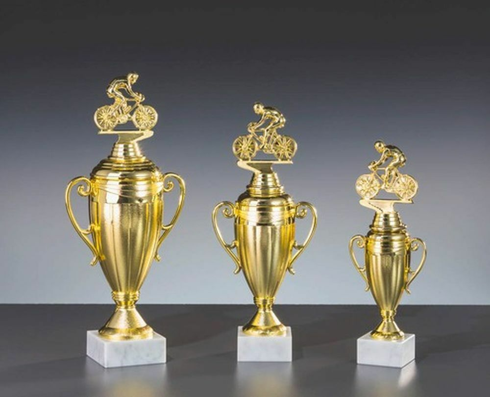 3er-Serie Große Radsport-Pokale mit Wunschgravur Wunschgravur Wunschgravur (81-34368-3) 63dba4