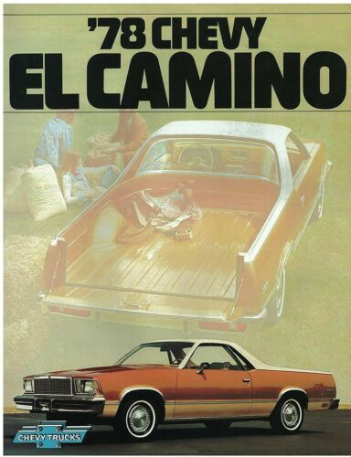 1978 Chevrolet El Camino Sales Brochure Original