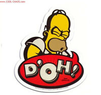 The Simpsons Homer Simpson Car Magnet - Homer Magnet - Homer Says Doh Cool