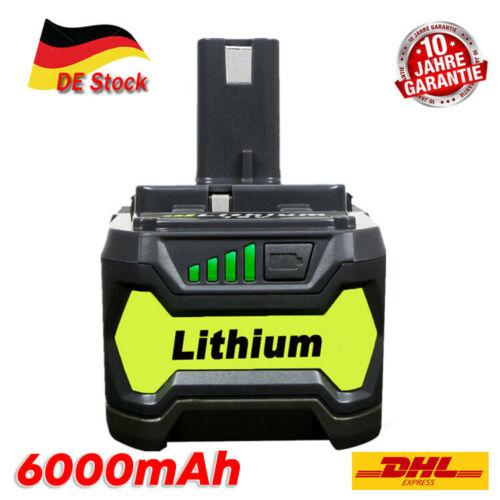 20X Für P108 Ryobi 18 V 6Ah Lithium Ionen one Plus Akku RB18L50 P104 P107 P109