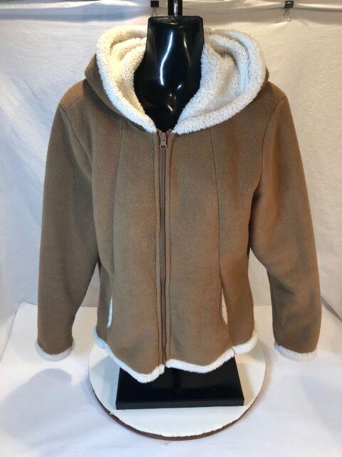 6036db525cf8 Faded Glory Girls Winter Warm Fleece Jacket Hoodie Size XS (0-2)