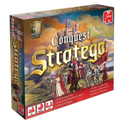 Stratego Conquest Boardgame New by Jumbo English Edition