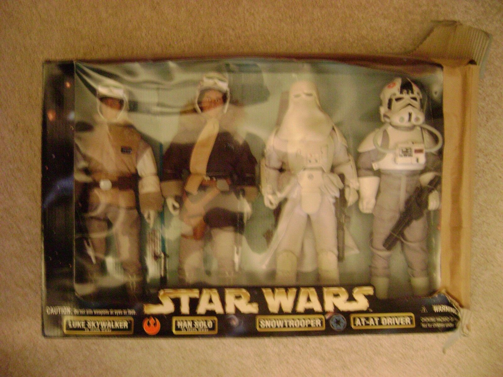 Star Wars set of 4 12in. figures Kenner 1998   Brand New (never opened)