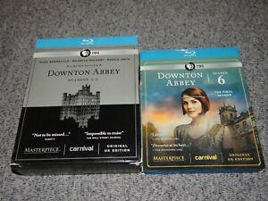 Masterpiece-Classic-DOWNTON-ABBEY-Complete-Series-BLU-RAY-SET-Season-1-2-3-4-5-6
