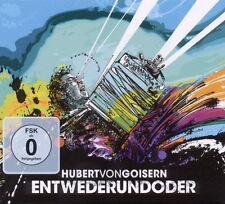"""HUBERT VON GOISERN """"ENTWEDERUNDODER"""" CD+DVD NEU"""