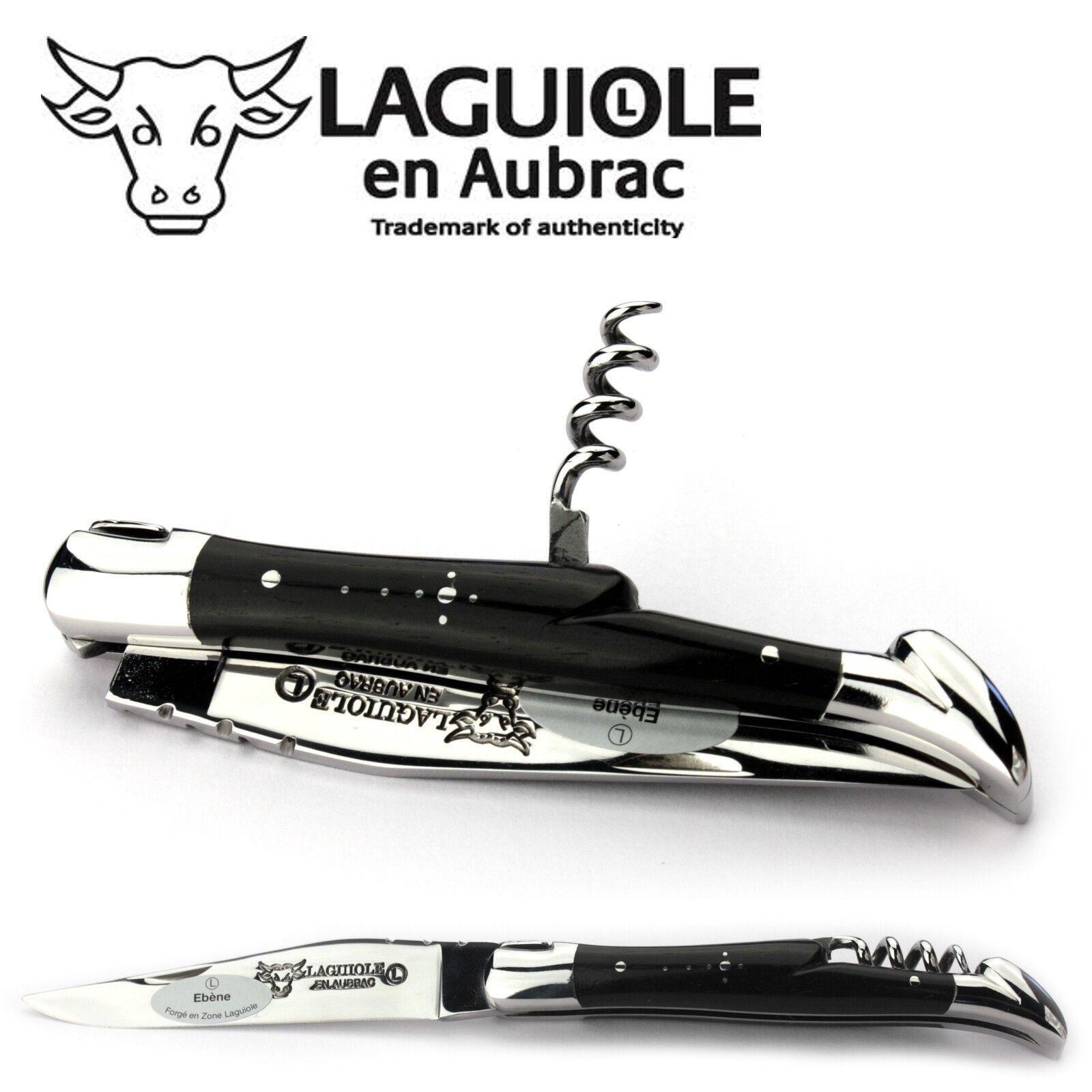 Laguiole en Aubrac Taschenmesser Ebenholz Korkenzieher L0311EBIS 11 11 11 cm Messer 4b1299