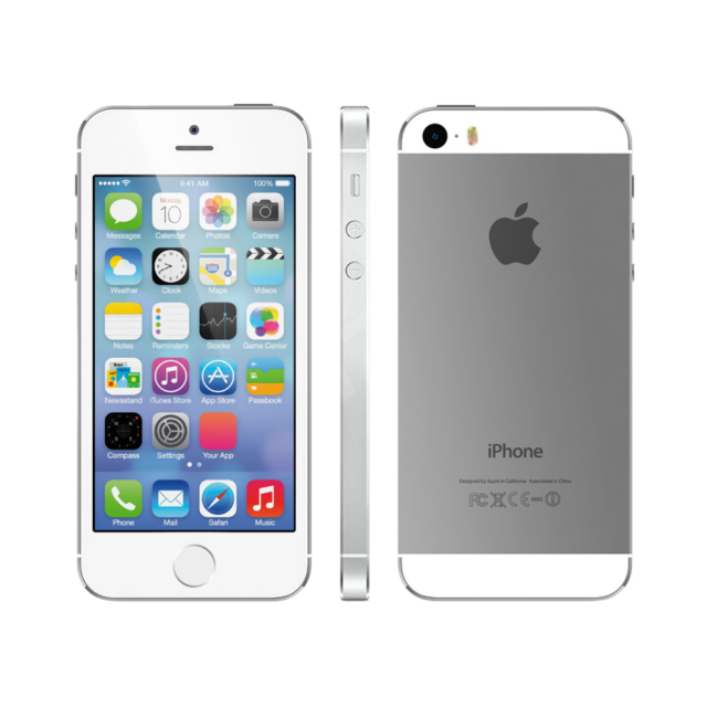 New Overstock GSM Unlocked for AT&T T-Mobile Apple iPhone 5s - 16GB - Silver