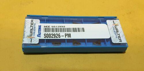 TPMT1.81.51 PF1 10 PCS CARBIDE  INSERTS WALTER  TPMT 090204-PF1  5615