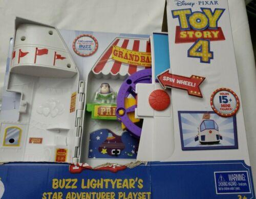 Disney Pixar Toy Story 4 minis Buzz Lightyear/'s Star Aventurier Playset