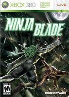 Xbox 360 Ninja Blade Brand Video Game