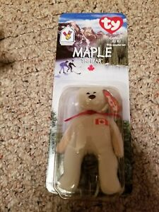 5b17b8722f6 Image is loading McDonalds-Ty-Beanie-Baby-Maple-The-Bear-NIB